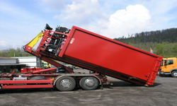 Abrollcontainer aus HARDOX-Material
